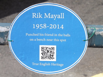 https://static.tvtropes.org/pmwiki/pub/images/unofficial_blue_plaque_to_rik_mayall_taken_in_hammersmith_london_june_2014.jpg