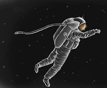astronaut drifts into space - photo #21