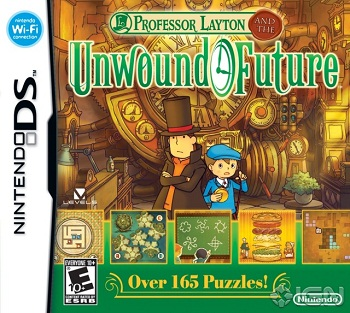 Professor Layton And The Unwound Future Video Game Tv Tropes