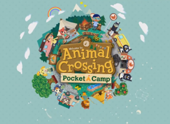 Video Game Animal Crossing Pocket Camp