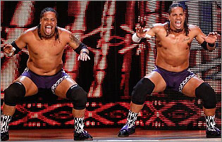 Jimmy and jey uso dual gods of the tag team twins - The usos theme song so close now ...