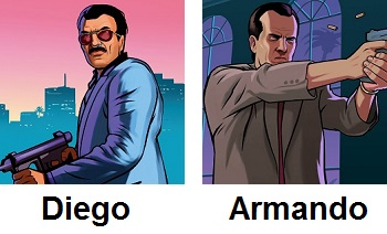 Grand Theft Auto / Characters - TV Tropes