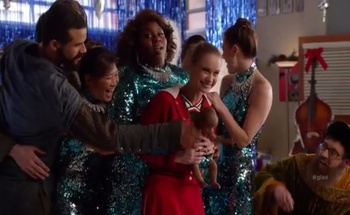 recap glee s 5 e 8 previously unaired christmas - Glee Previously Unaired Christmas