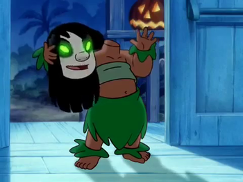 Lilo Stitch The Series Nightmare Fuel Tv Tropes