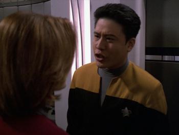 Star Trek Voyager S 5 E 16 The Disease / Recap - TV Tropes