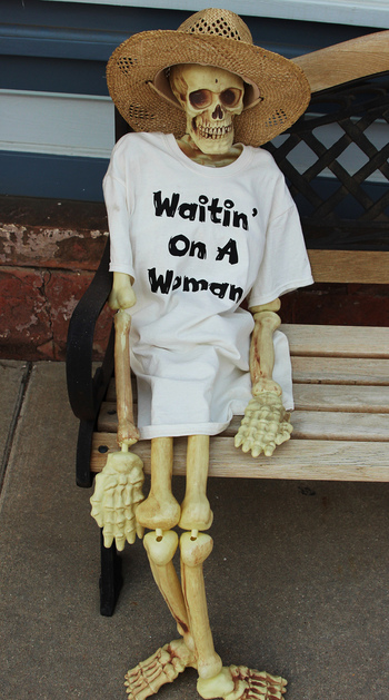 still waiting for mr right skeleton