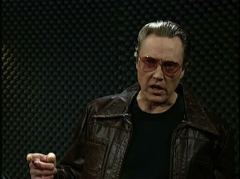 Christopher Walken quote: I got a fever, and the only ... |Christopher Walken Cowbell Quotes