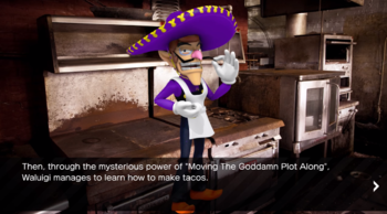 http://static.tvtropes.org/pmwiki/pub/images/waluigi_learns_to_make_tacos.PNG