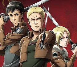 Attack On Titan The Warrior Trio Characters