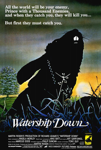 an analysis of the main characters in richard adams watership down Richard adams' classic novel watership down isn't just about rabbits tackling the big ideas, including the importance of storytelling to society, adams weaves an.