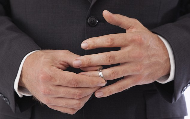 A Remove Ring When Wedding Widow Should