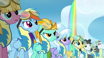 "My Little Pony: Friendship Is Magic S3 E7 ""Wonderbolts ...  My Little Pony:..."
