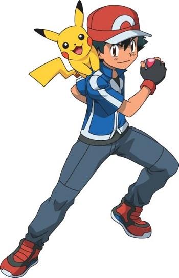 Pokémon anime ash and pikachu characters tv tropes