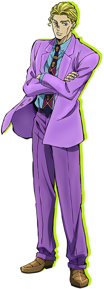 JoJo's Bizarre Adventure: Diamond is Unbreakable / Characters - TV