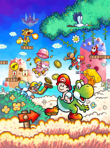 Yoshi S Island Ds Video Game Tv Tropes