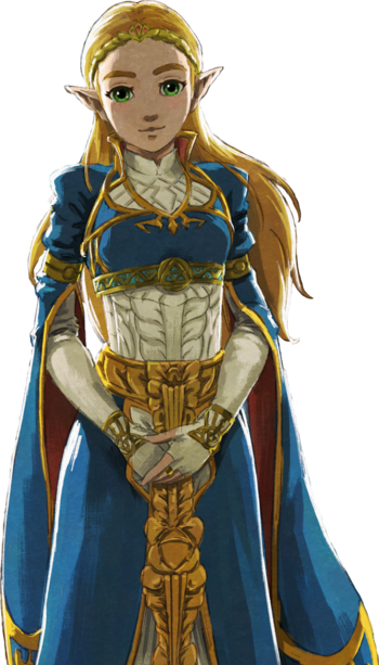 Click here to see Zelda in her formal dress  http://static.tvtropes.org/pmwiki/pub/images/