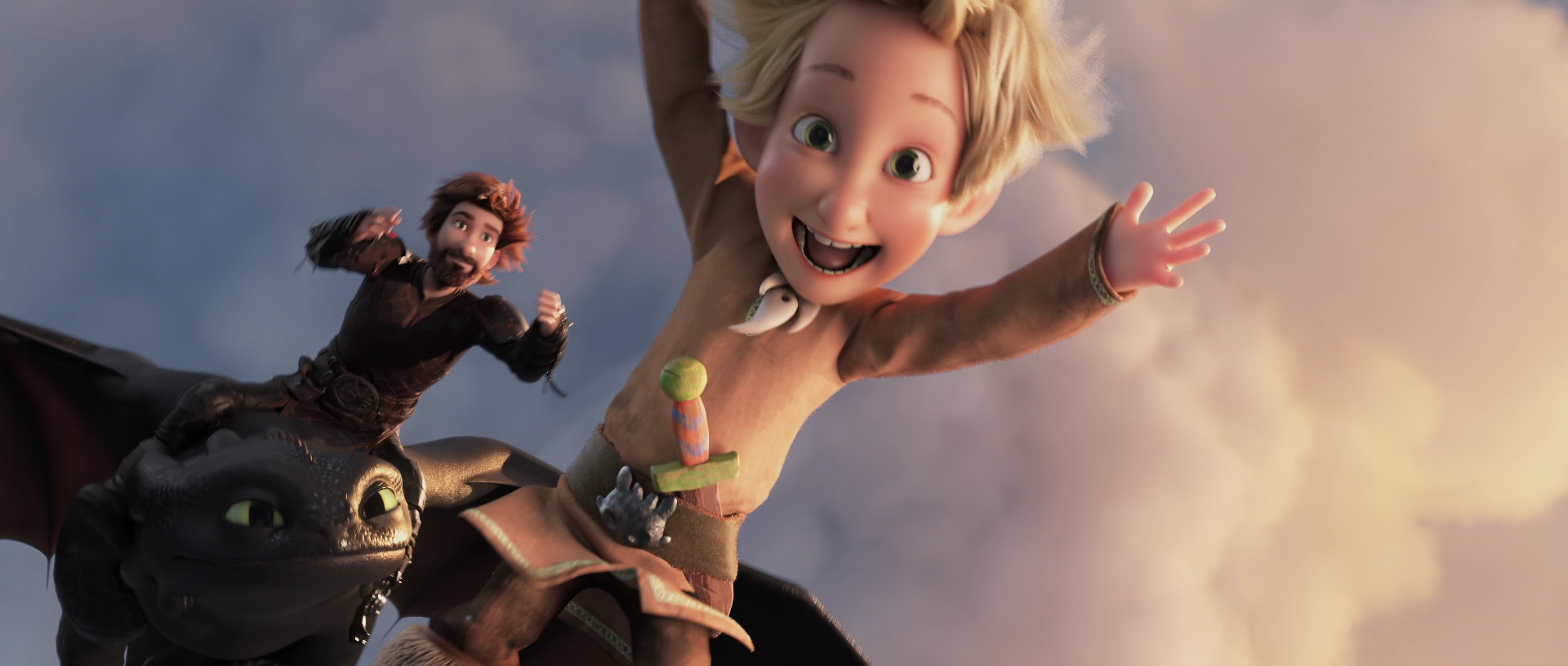 How to Train Your Dragon: The Hidden World / Video Examples - TV